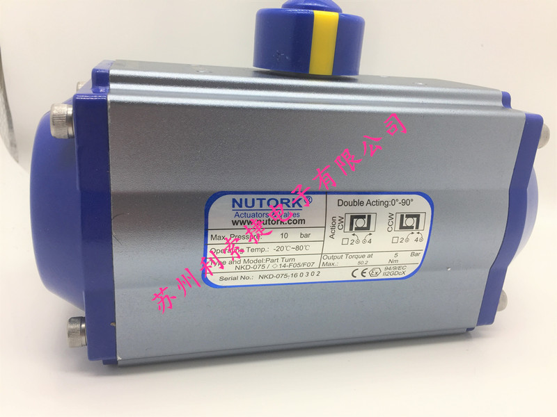 美国NUTORK 执行器 NKD-075