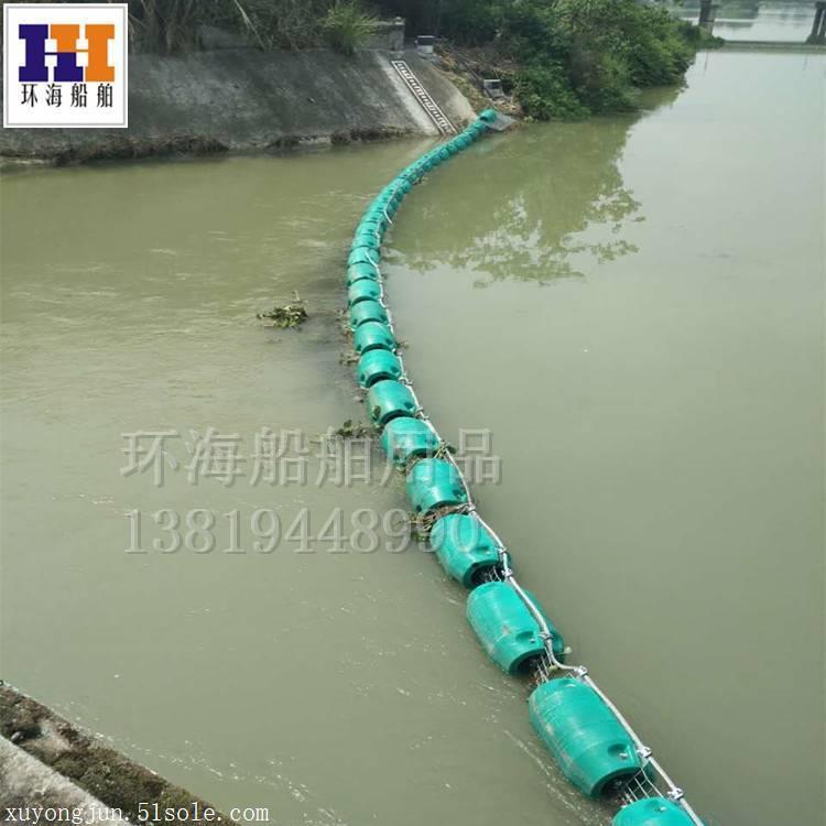 厂家直销水库挂网拦污浮体