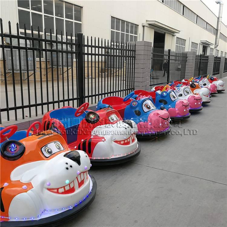 奶牛老虎碰碰车 儿童双人豪华电动玩具车 广场商用电瓶车厂家