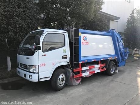 东风D6压缩式垃圾车厂家 图片,压缩式垃圾车厂家 介绍
