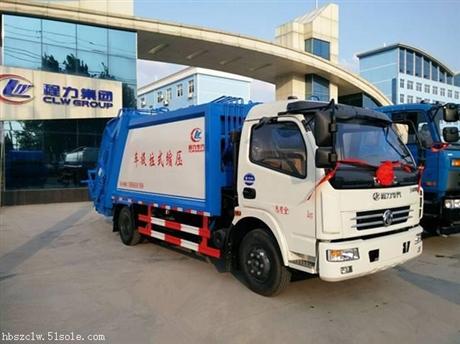 东风多利卡7立方压缩式垃圾车厂家 热销