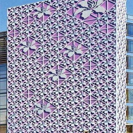 湖南衡阳铝单板厂家价格 氟碳铝单板雕花 铝单板外墙