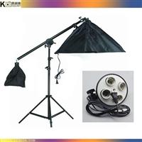 廠家直銷攝影棚拍照補光四聯燈柔光箱頂燈-補光懸臂燈-攝影器材