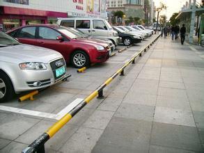 安装停车场挡轮杆注意事项南山挡车杆铸铁底