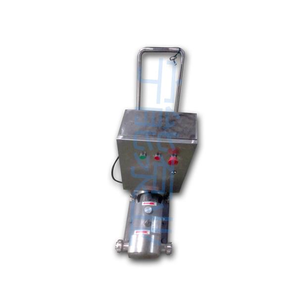 上海宁能移动式不锈钢转子泵凸轮泵