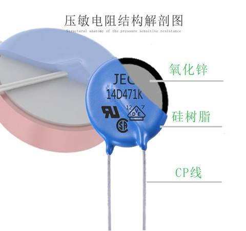 压敏电阻的结构特点及工作原理