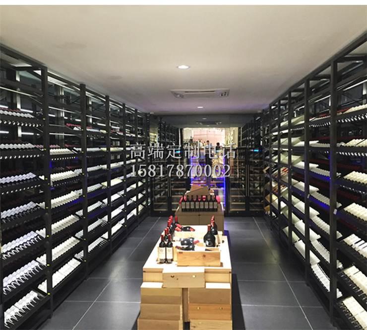 高端不锈钢红酒展示架 不锈钢酒架定制