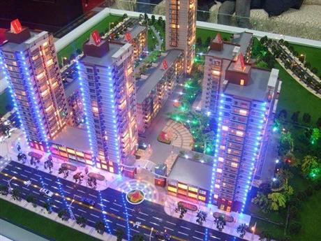 如皋区域挂壁模型如东售楼模型制作公司