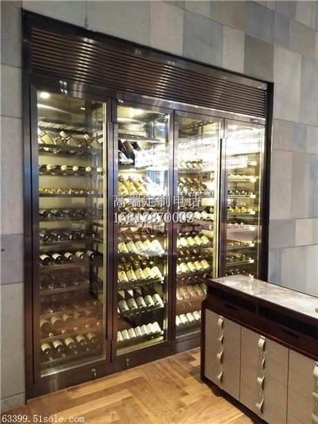 不锈钢酒柜恒温常温酒柜葡萄酒洋酒展示架