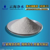 云南云海1800万分子量阴离子聚丙烯酰胺低价出售 造纸印染污水处