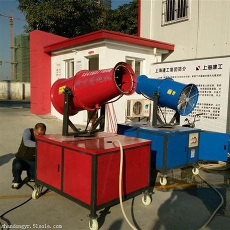 天津防尘减霾雾炮机开发区建筑施工地推行雾炮除尘