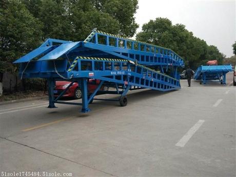 集装箱登车桥配件维修 卸货平台价格
