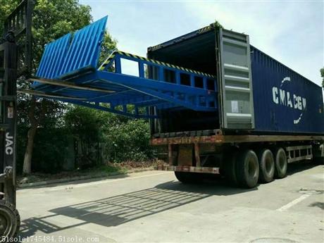 可移动卸货平台多少钱 登车桥生产厂家