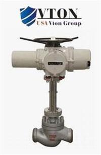 进口电动高压调节阀品牌/价格 美国威盾VTON阀门