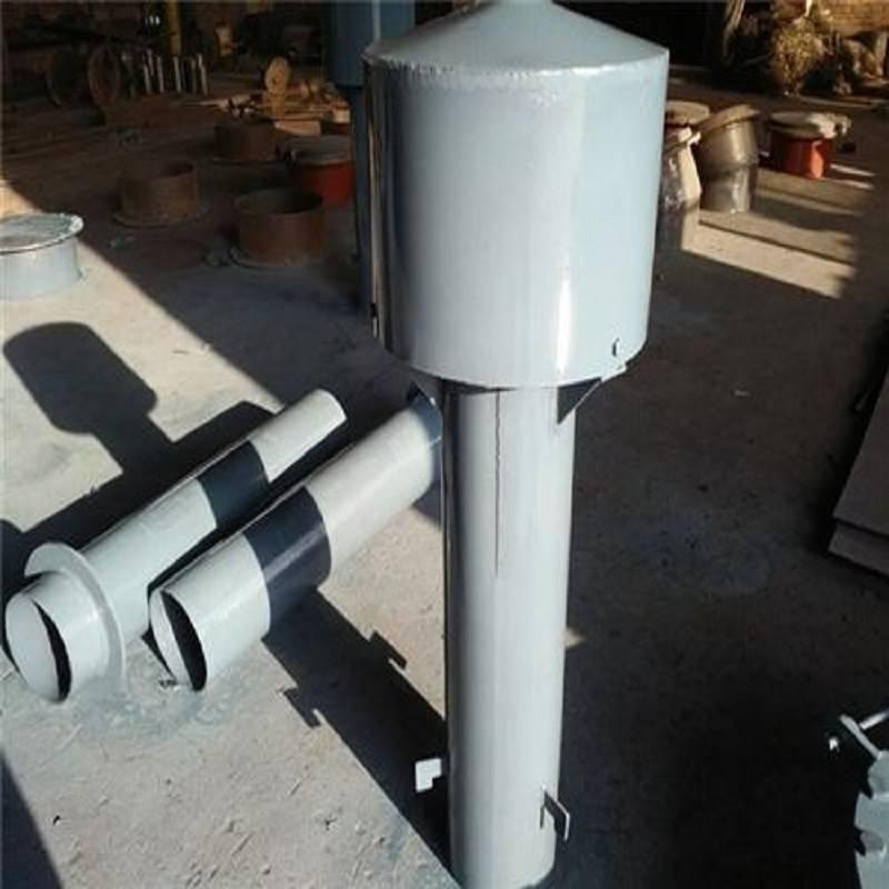 污水处理厂专用罩型通气帽、DN200型号弯管通气管厂家