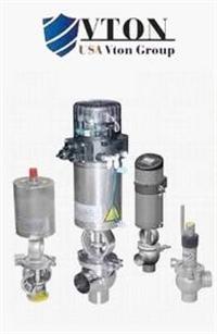 进口电动卫生级调节阀品牌/价格 美国威盾VTON阀门