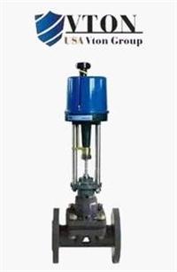 进口电动隔膜调节阀品牌/价格 美国威盾VTON阀门