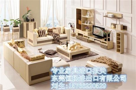 天津港旧家具进口报关公司