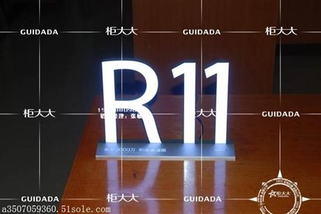 LED发光字桌面标识牌厂家直销
