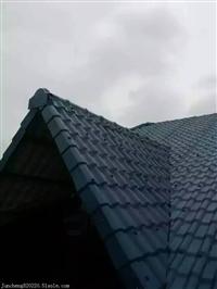 耐腐抗压优质ASA合成树脂瓦  适用于坡面屋面建设
