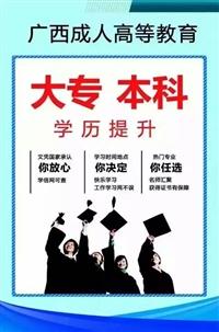 广西函授大专文秘专业招生成人高考招生