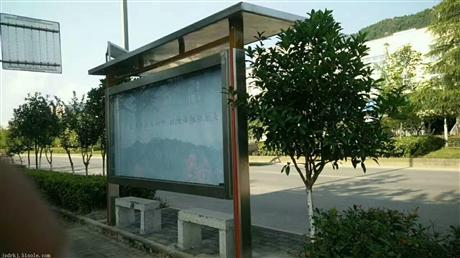 重庆候车亭宣传栏,垃圾箱报刊亭,公交站台广告灯箱制作厂家