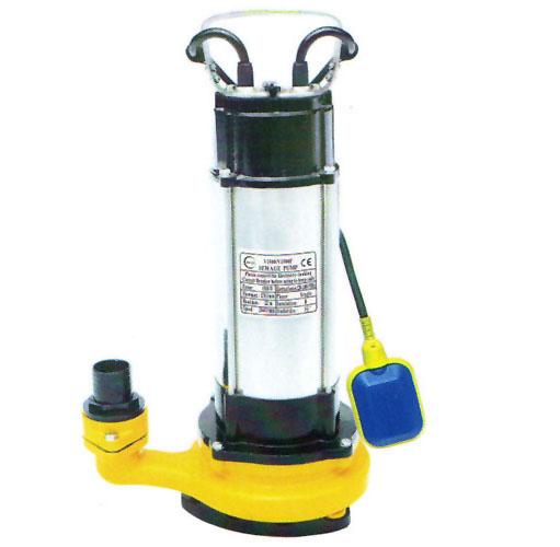 3寸单相铸铁V1500可配浮自动潜水泵