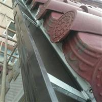 武汉pvc屋檐接水槽别墅天沟雨水槽排水系统
