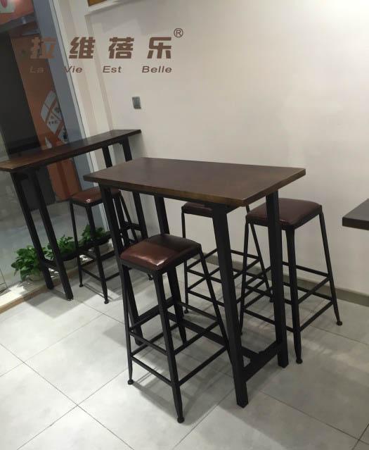 西安咖啡厅吧桌定制厂家直销