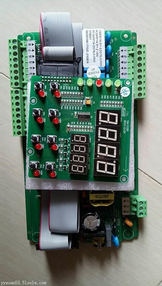 工业冷水机 冷风机电子控制板 电路板