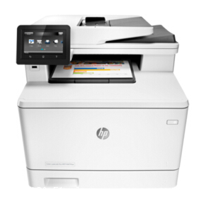 深圳南山惠普m477fdw激光彩色一体机 打印复印扫描