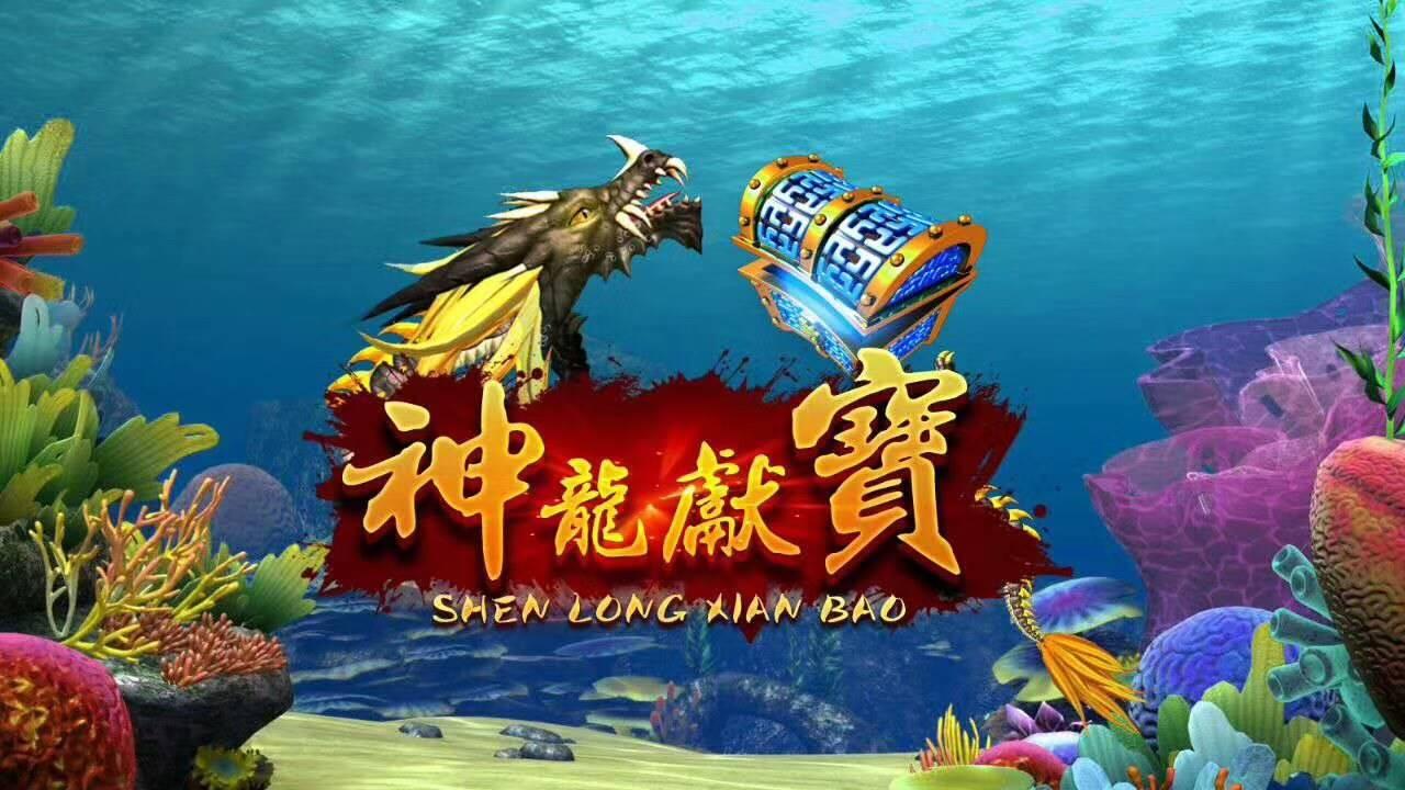 神龙献宝捕鱼游戏机厂家专版销售价格
