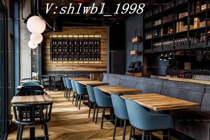 广州西餐厅实木桌椅定制
