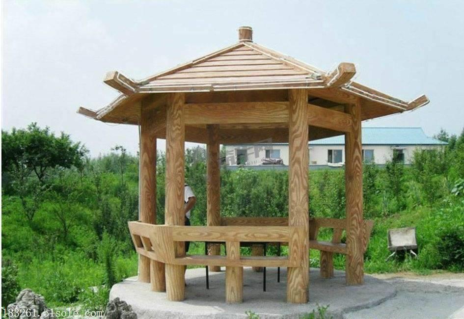 水泥凉亭制作方法