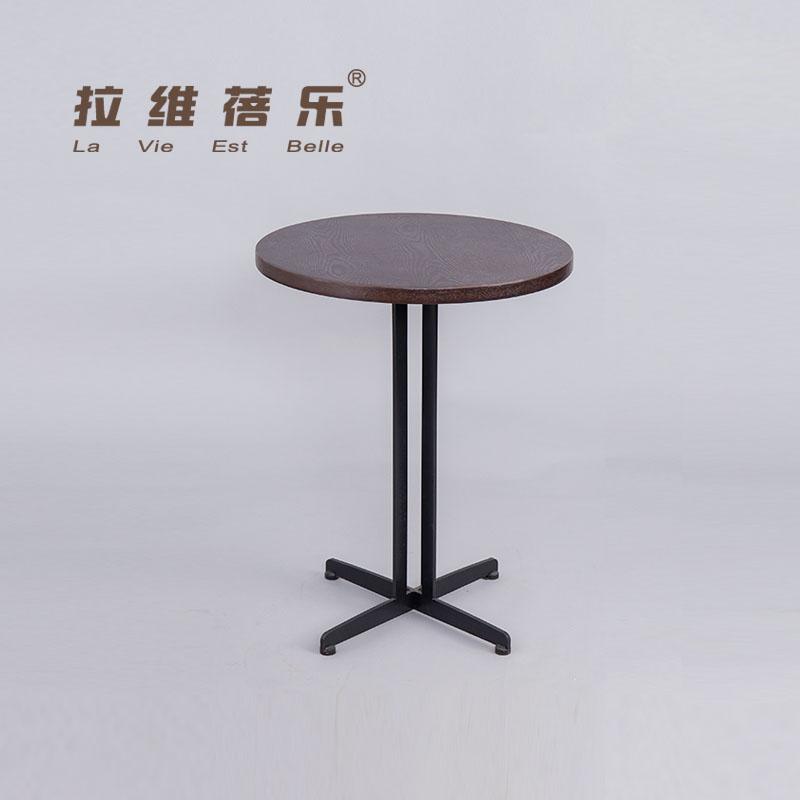 西安星巴克实木桌子定制厂家批发