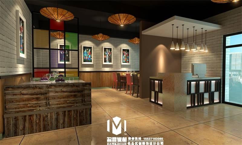 郑州餐饮店装修设计公司,郑州主题餐厅装修设计主题规划