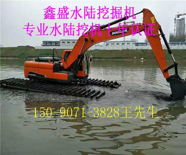 水陆挖掘机租赁 改装 出租