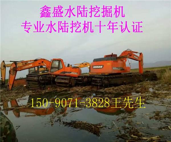 大型水上挖掘机一般价格
