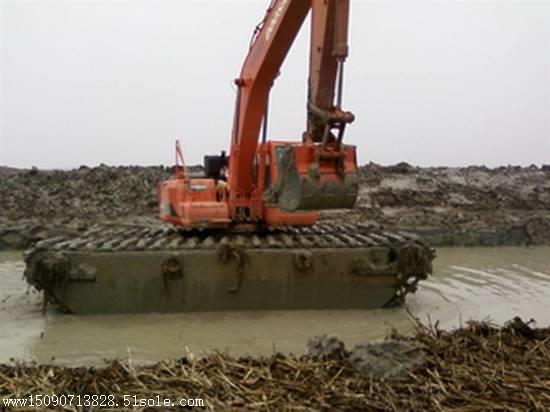 水路两用挖掘机如何改装
