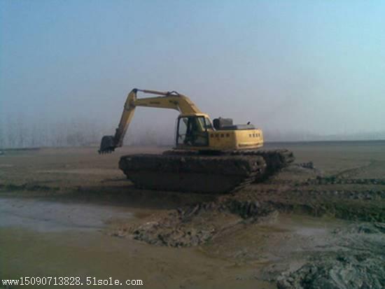 民强水陆挖掘机出租