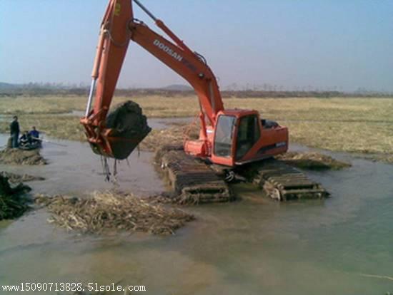 出租水陆两用挖掘机