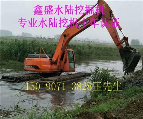 120水陆两用挖掘机租赁公司