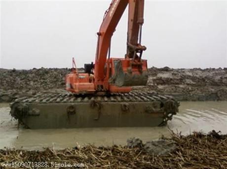 水路挖掘机改装水陆挖掘机租赁公司