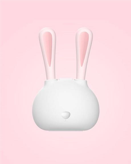 316不锈钢宝宝餐具套装 兔子造型勺子叉子套装 便携式儿童餐具