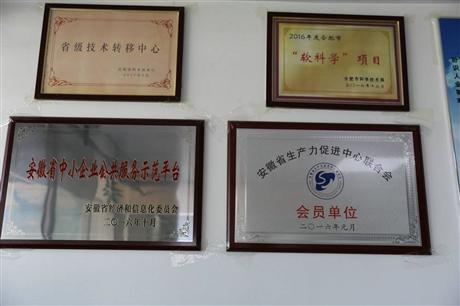 申报安徽省企业技术中心企业要求