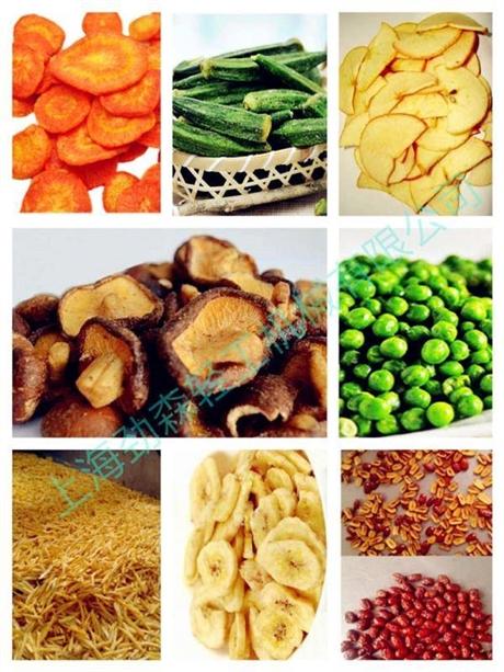 上海劲森低温油炸机 青豆花生坚果农产品深加工即食设备