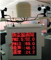 简易版扬尘噪声监测设备(带频幕)