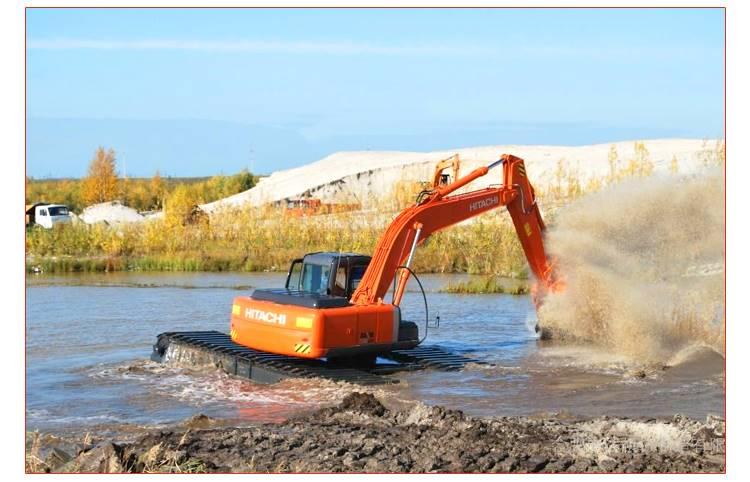水陆挖掘机租赁出租改装