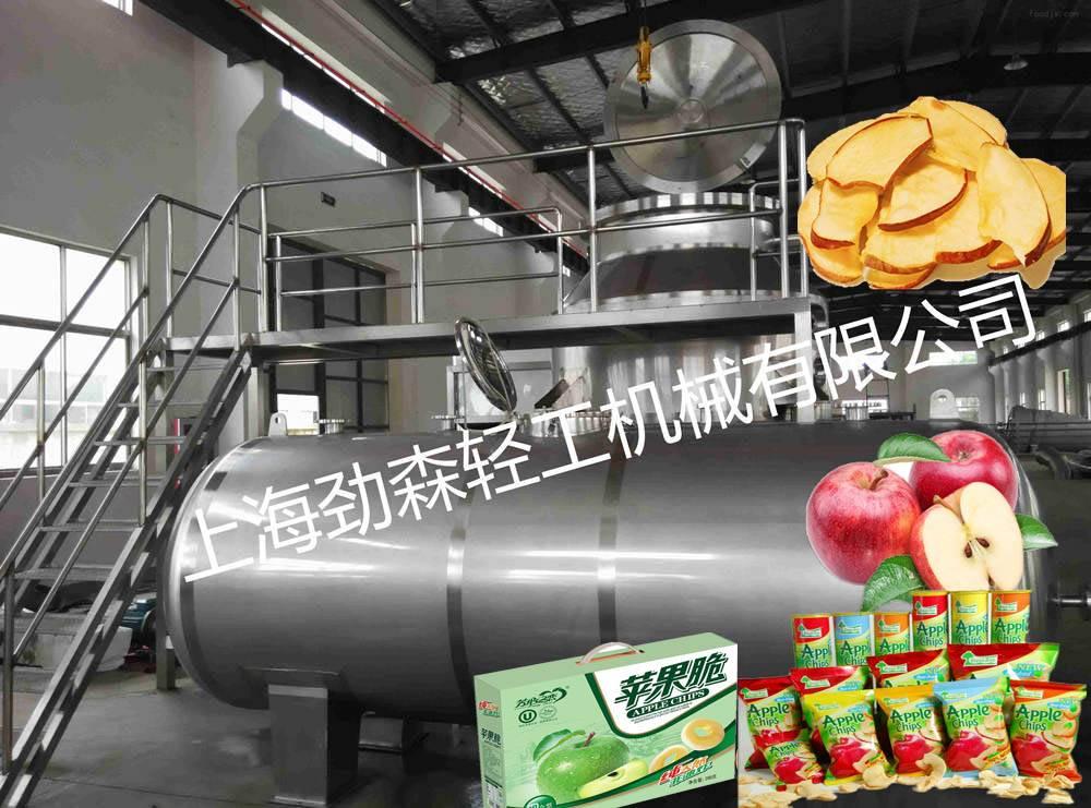 陕西山西真空油炸机 猕猴桃苹果脆片低温油炸设备