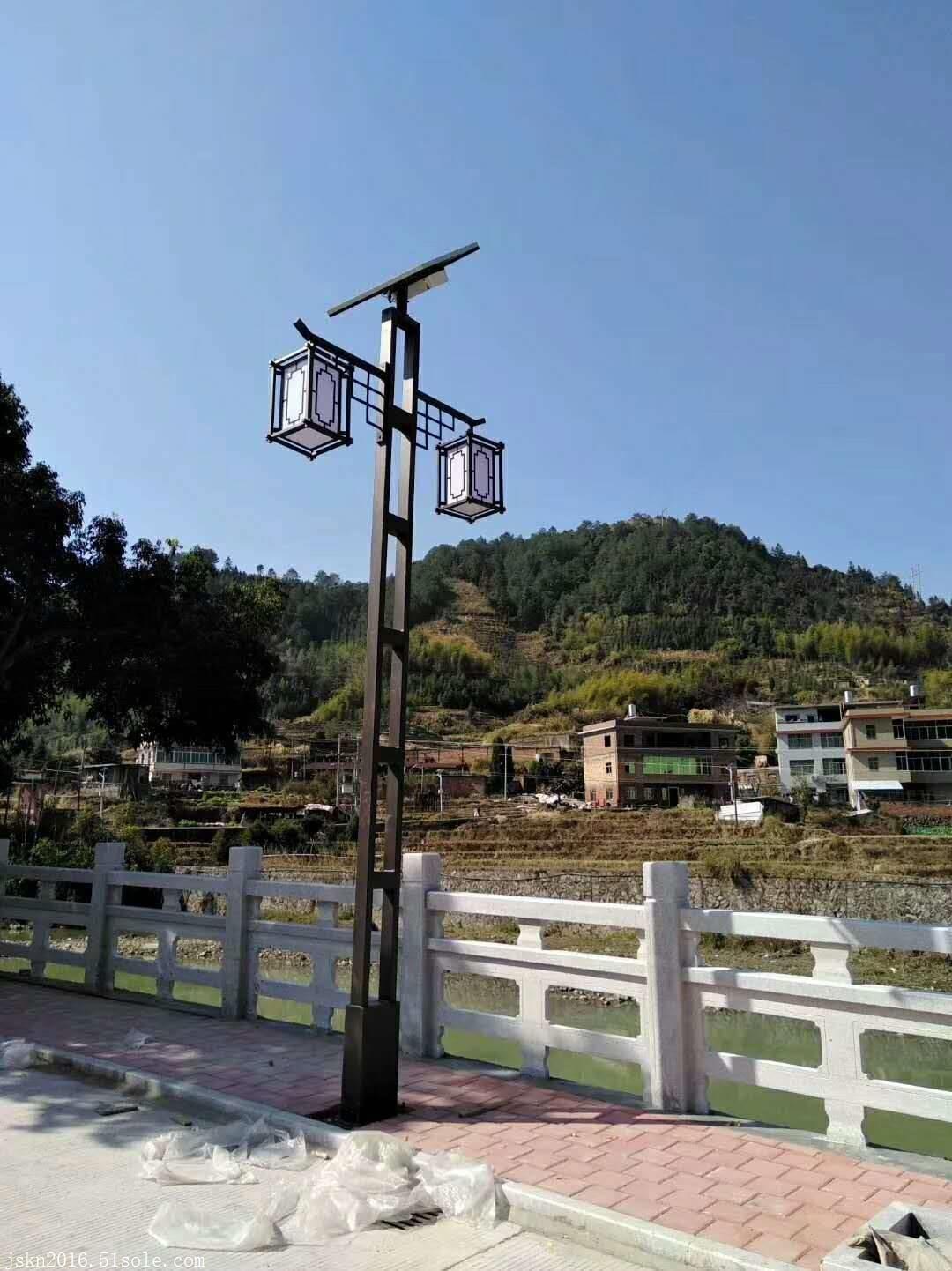 小区广场太阳能景观灯路灯 4米太阳能景观灯 江苏高邮路灯厂家